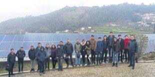 Erasmus Programı ile 15 Öğrenci Yenilenebilir Enerji için Portekiz'e Gitti