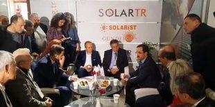 Yenilenebilir Enerji GM Dr. Oğuz CAN SOLAREX İstanbul 2018'de Sektör Temsilcileriyle Bir Araya Geldi