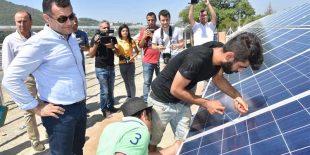 Alanya'da Güneş Enerjisinden 1 Milyon 794 Bin 990 TL Gelir Sağlandı