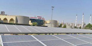 Diyarbakır'da Güneş Enerjili Park Projesi Tamamlandı