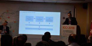 ICCI 2018 TESAB Özel Oturumunda TEDAŞ Teknik Uzmanı Fırat ÖNCİN Çatı GES durumu ve Gelişmelerine istinaden bilgi verdi