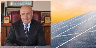 Doğankent Belediyesi GES'ten Yılda 1,2 Milyon Lira Kazanacak